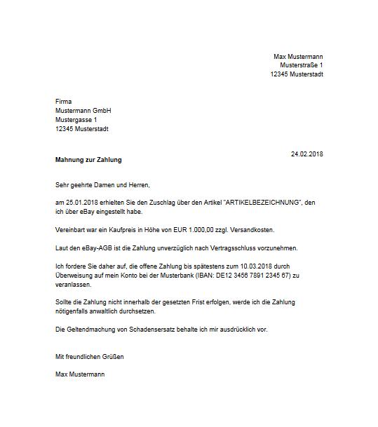 Der Käufer Zahlt Nicht Rechtsanwalt René Iven